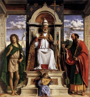 Peter Enthroned