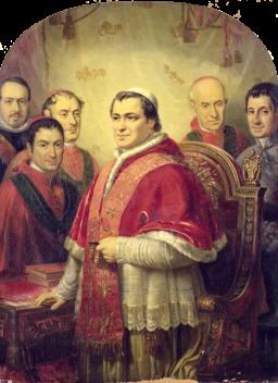 PopePiusIXbyJoseGalofreYComa