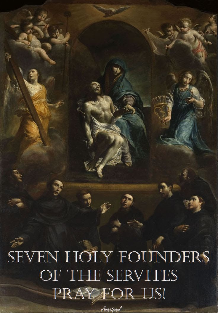 seven-holy-founders-pray-for-us-17 feb 2017