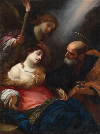 simone-pignoni-saint-agatha-attended-by-saint-peter-and-an-angel-in-prison