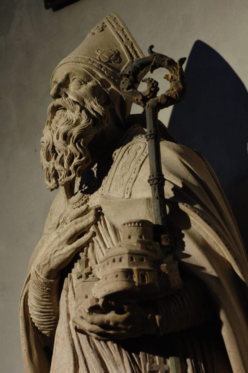 st blaise statue - large