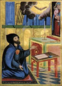st gregory of narek at prayer