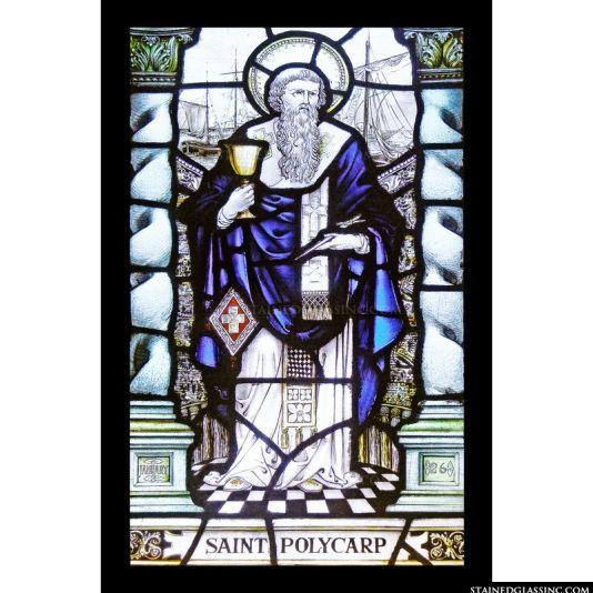 st polycarp glass