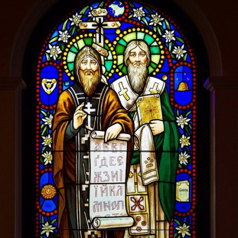 sts cyril and methodius glass