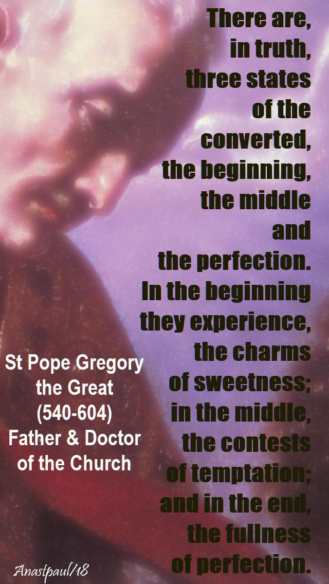 there are in truth - st pope gregory the great - 1 feb 2018