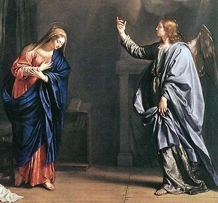 Annunciation_Philippe de Champaigne