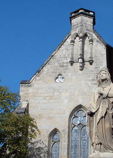 Church St. Mathildis in Quedlinburg, Germany