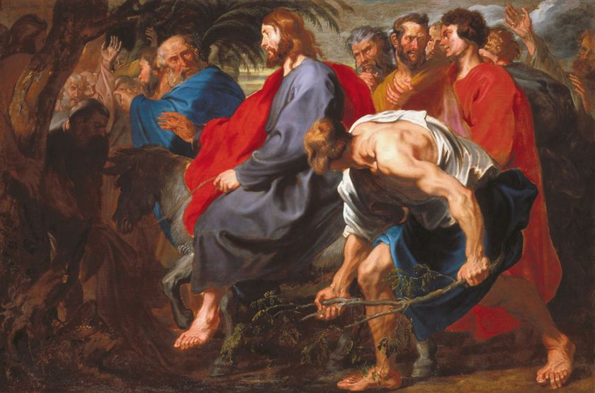 Entry into Jerusalem Van Dyck