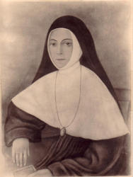 His sister and Servant of God Marie-Louise-Élise Cestac.