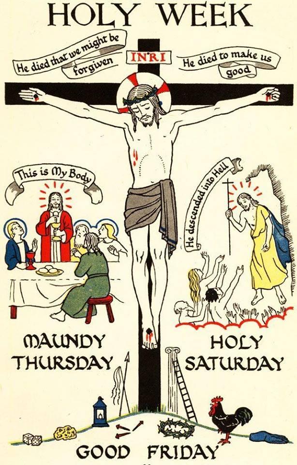 holy week trad