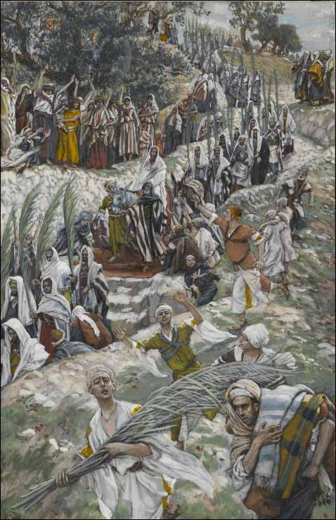 james tissot - palm sunday