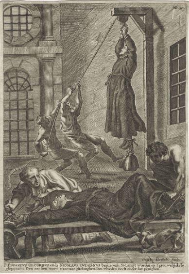Martyrdom of st nicholas owen