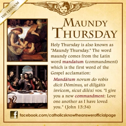 maundy thursday info
