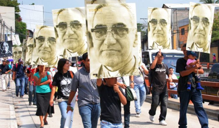 oscar romero - protest