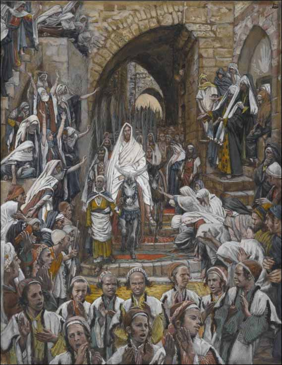palm sunday by james tissot no 1