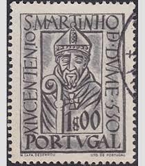 st martin of braga stamp