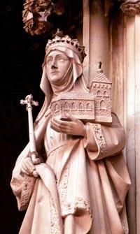 st mathilda statue