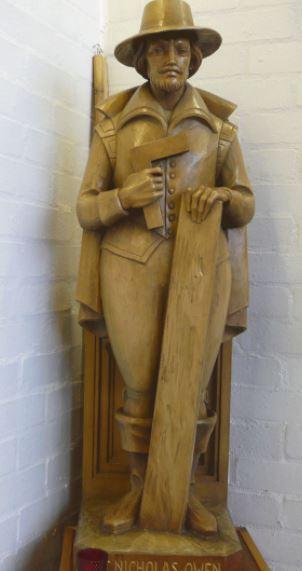 st nicholas owen statue