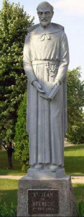 statue brebeuf