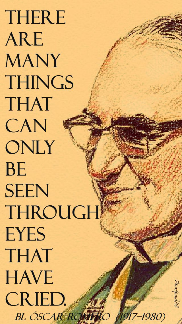 there are many things - bl oscar romero - 24 march 2018