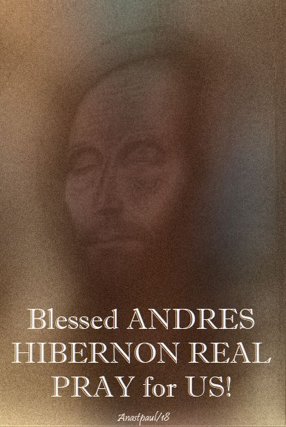 bl andres hibernon real - pray for us - 17 april 2018