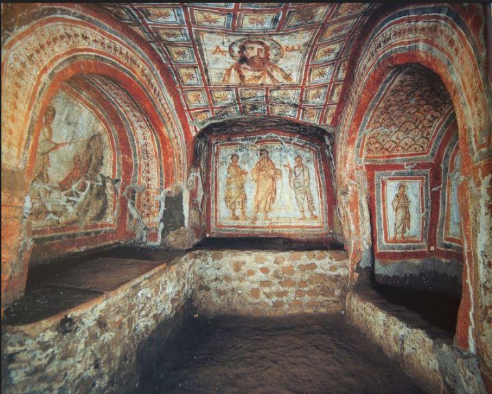 callistus catacombs - snip