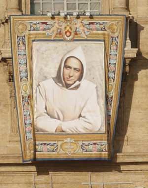 canonisation banner
