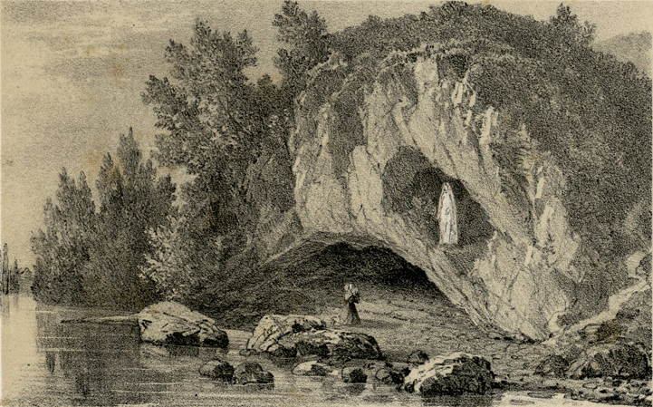 Grotte_miraculeuse_à_Lourdes_Charles_Mercereau