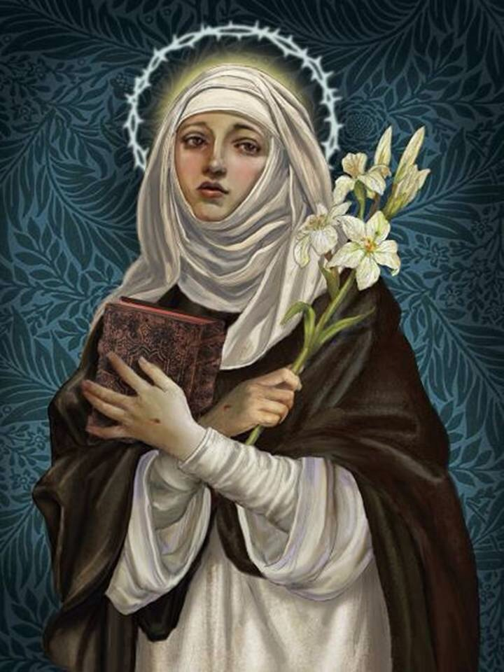 Saint of the Day – 29 April – St Catherine of Siena (1347-1380) Doctor of  the Church – AnaStpaul