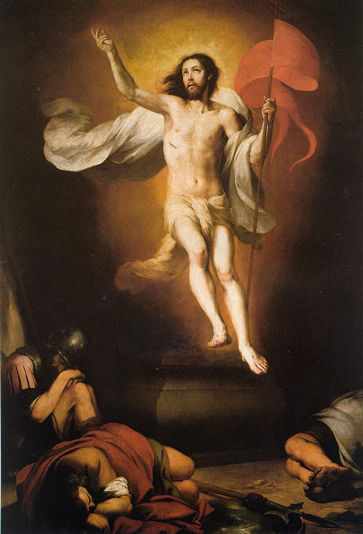 Resurrection of Christ – Bartolomé Esteban Murillo