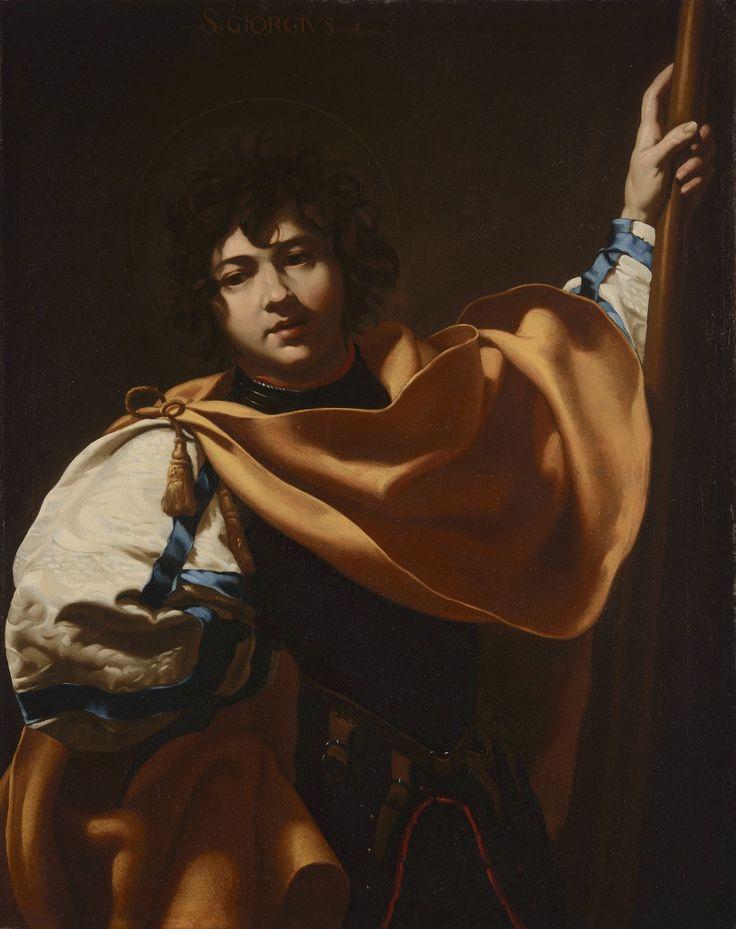 Simon Vouet - ST GEORGE