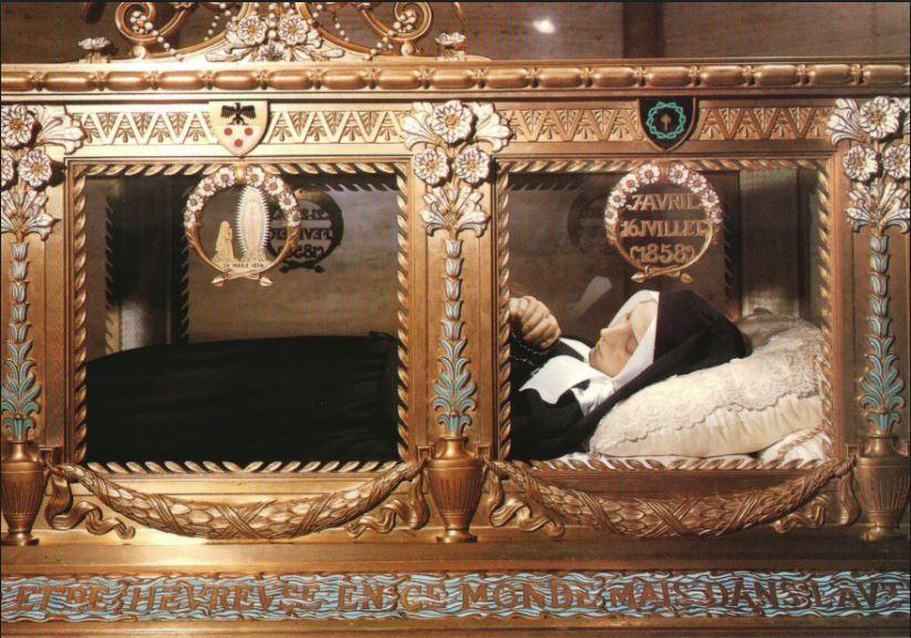 st bernadette's incorrupt body