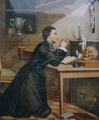 ST LOUIS DE MONTFORT AT PRAYER.2