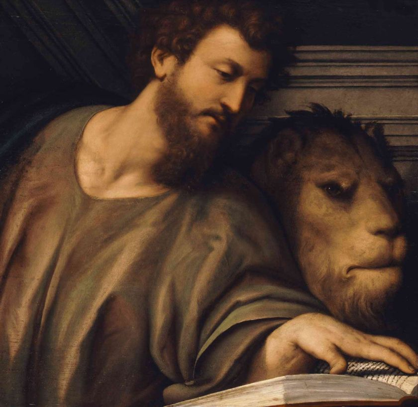 st mark and the winged lion
