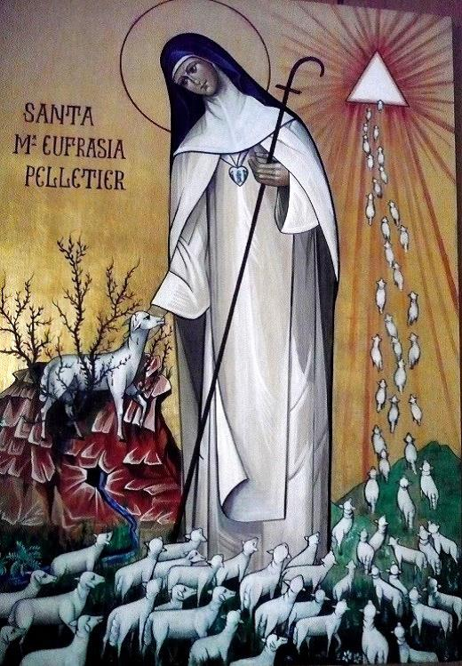 st mary euphrasia-holy card