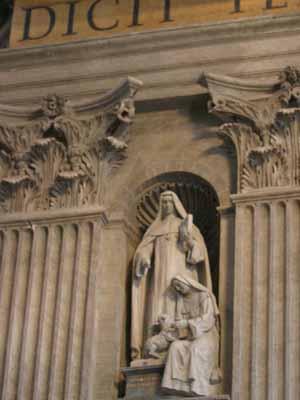 St Mary Euphrasia Pellettier-LfTranseptE-s