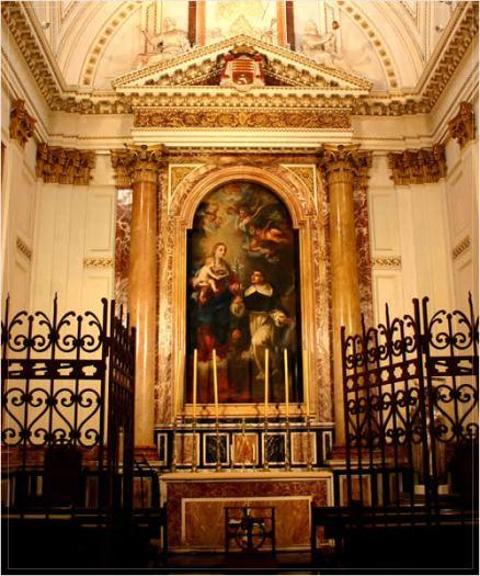 vannes cathedral chapel of st vincent ferrer