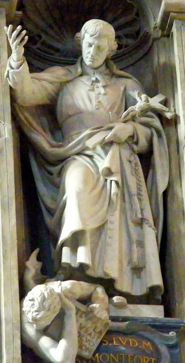 Vatican founder statue-st-louis-marie-grignion-de-montfort