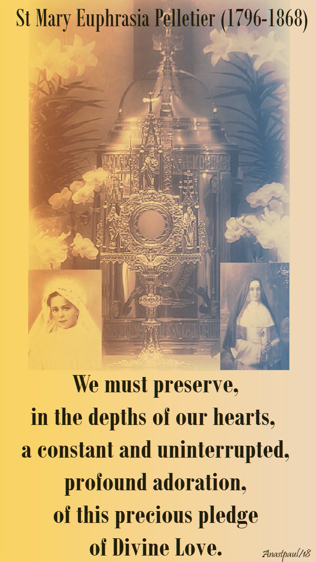 we must preserve - st mary euphrasia - 24 april 2018