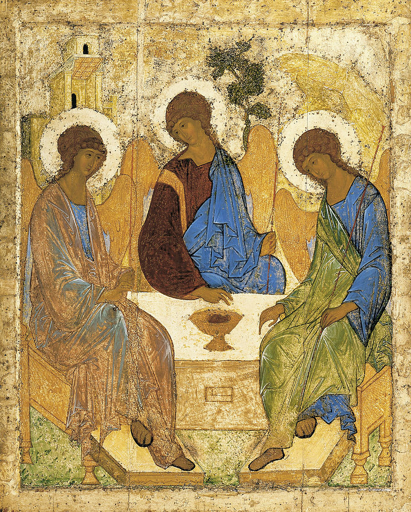 Andrei Rublev, 1411 or 1425-27