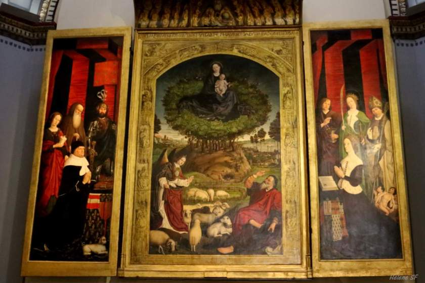 bl andrew altarpiece