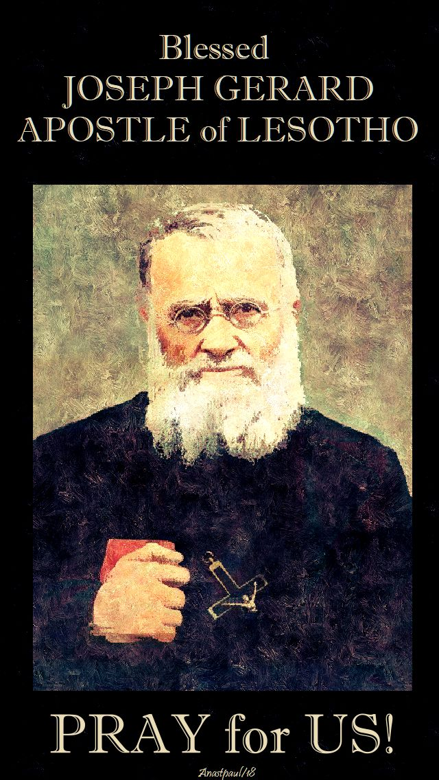 bl joseph gerard - pray for us - 29 may 2018