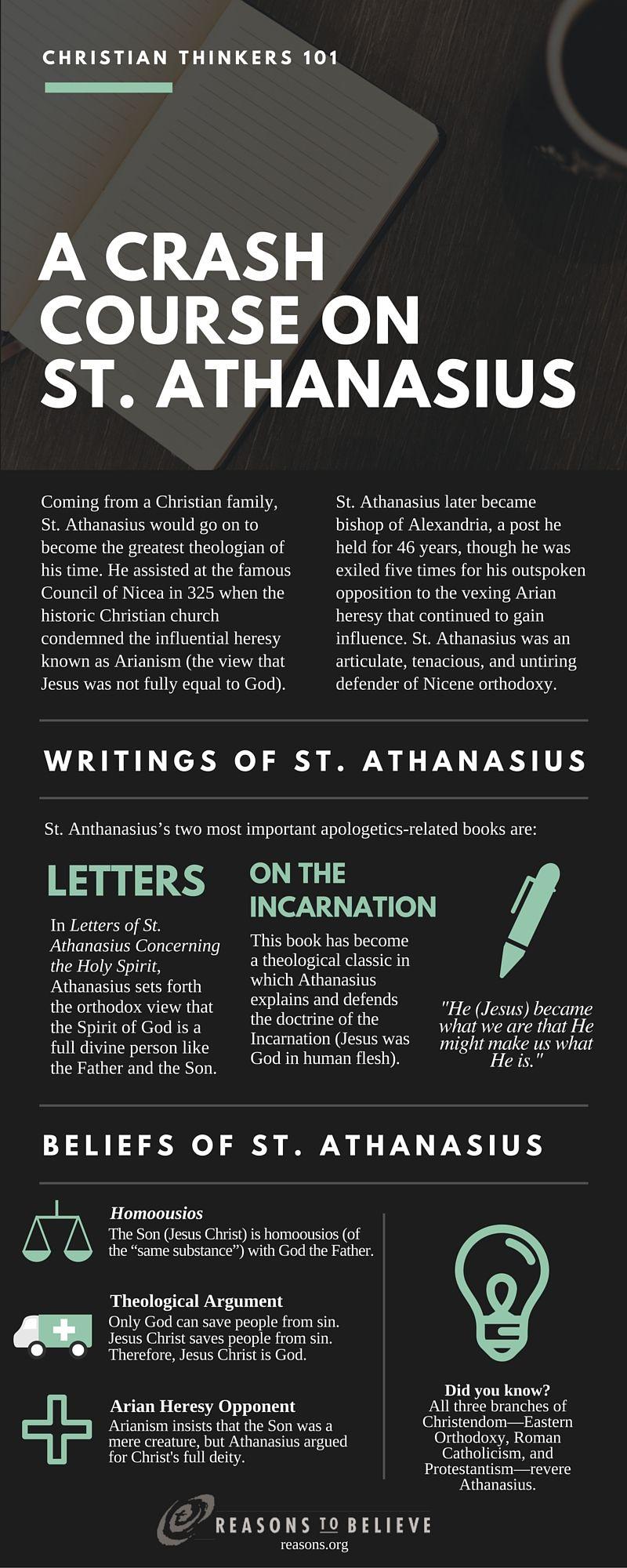 crash course on athanasius