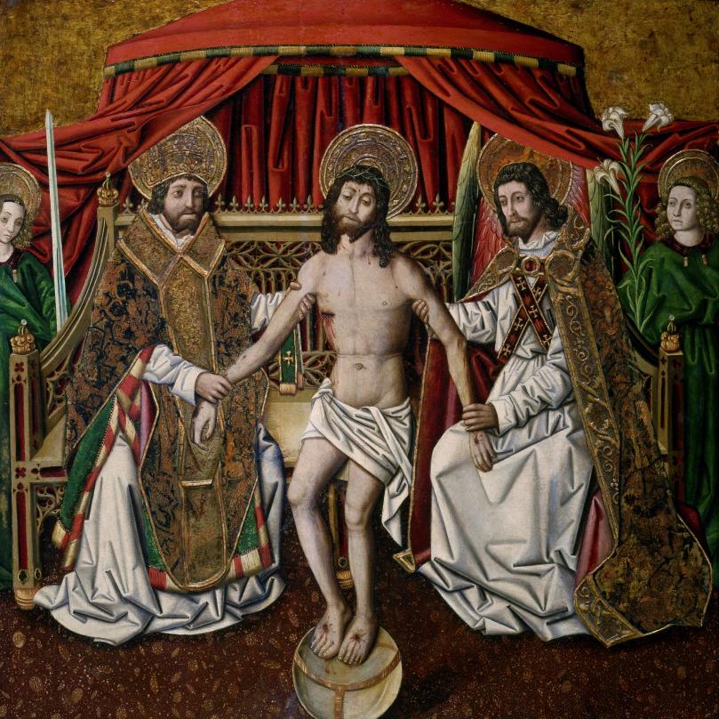 Miguel Ximénez, 1480-90.holy trinity