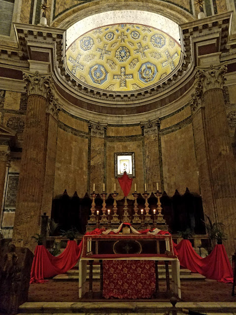 our lady of martyrs - pantheon