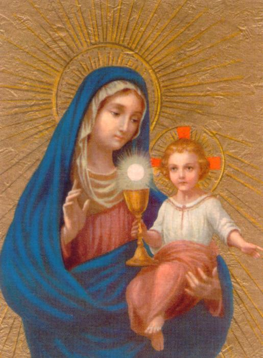 our lady of the blessed sacrament - 13 may feast day