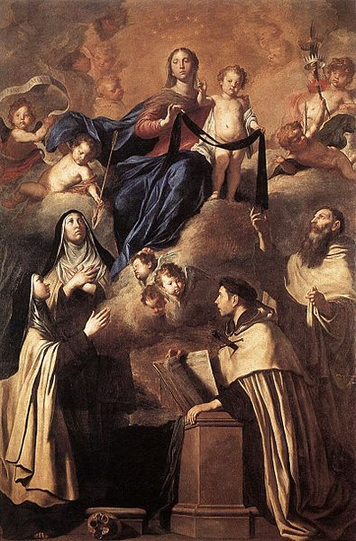 Pietro_Novelli_Our_Lady_of_Carmel_and_Saints
