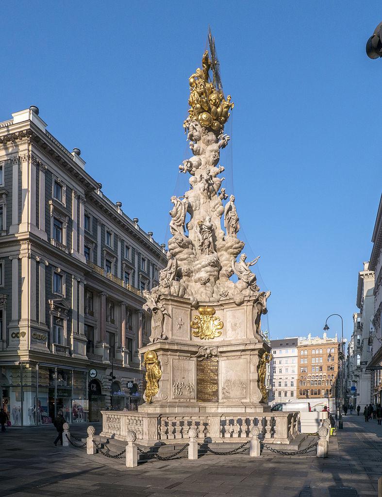 Plague Column, Vienna, Austria