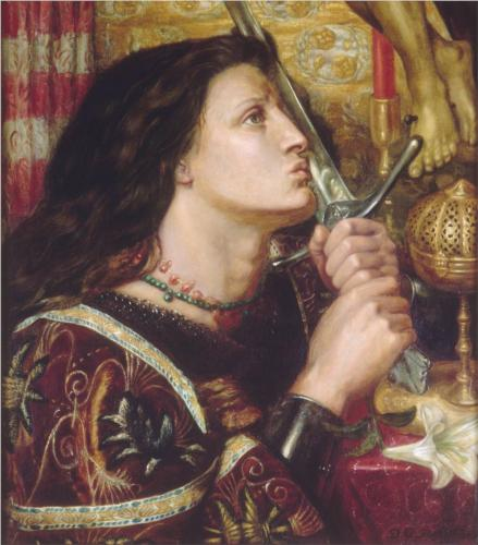 Rossetti, Dante Gabriel, joan-of-arc-kisses-the-sword-of-liberation-1863.jpg!Blog