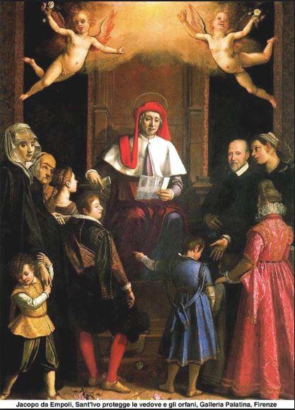 ST IVO - PATRON OF CHILDREN
